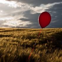 Roter Ballon